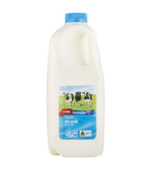 Coles Full Cream Milk