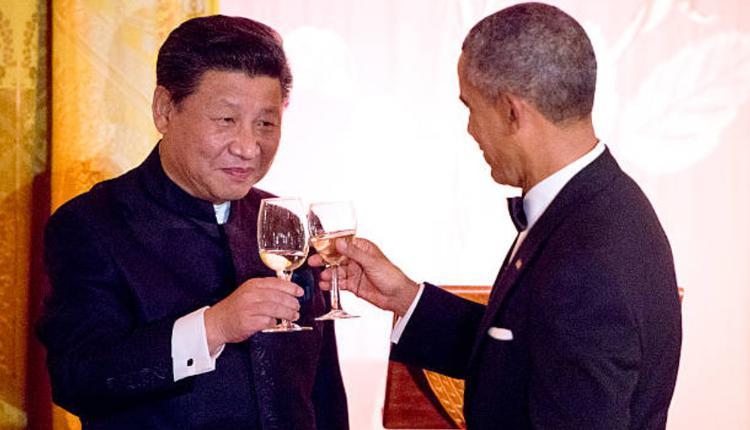 习近平与欧巴马