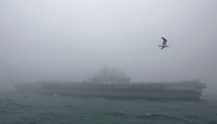 中国航空母舰辽宁号