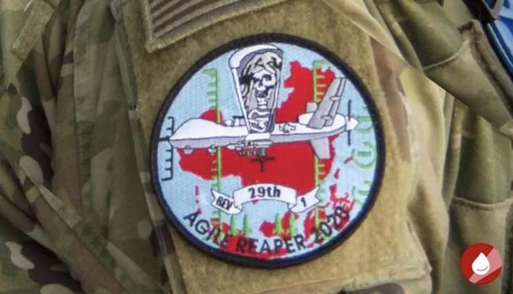 美國無人機中隊新徽章
