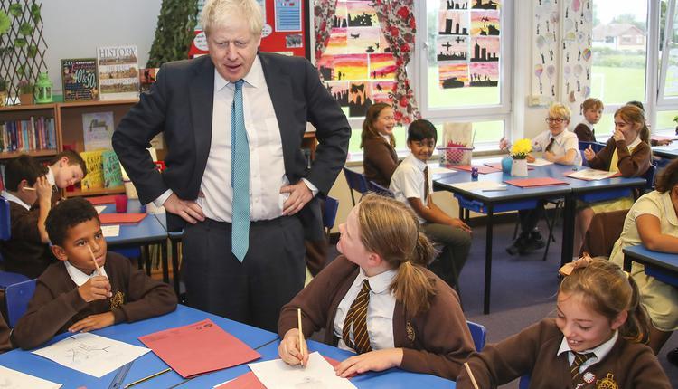 英国首相,约翰逊,Boris Johnson,学校