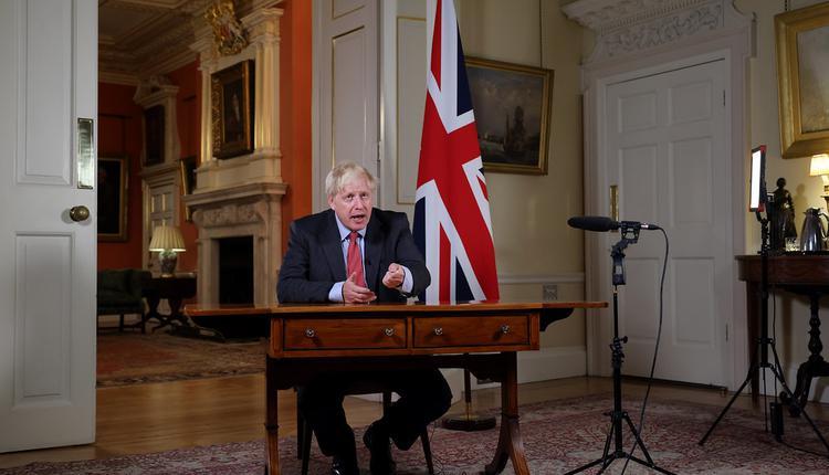 英国首相, 约翰逊, 全国讲话, 武肺新规