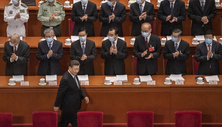 """中共政治局会议9月28日通过""""中央委员会工作条例"""",习近平权威从核心再延伸。"""