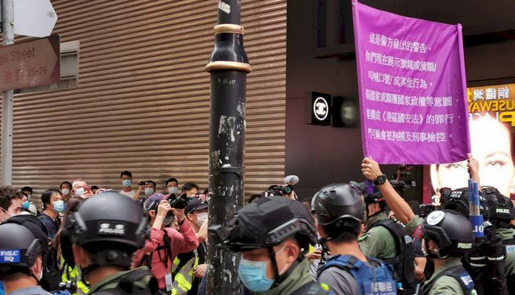 香港10.1反送中示威