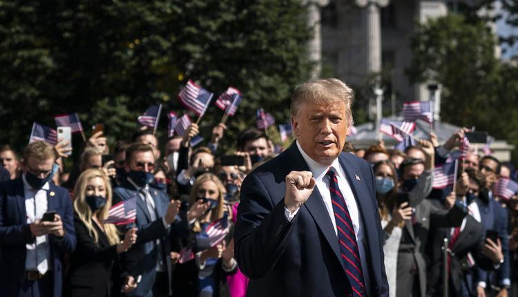 川普总统及其支持者