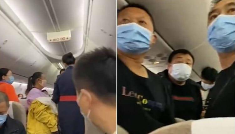 乘客拒戴口罩致航班延误1小时