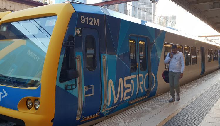 墨尔本火车