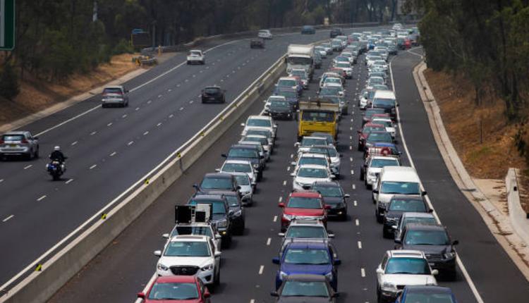 悉尼交通拥堵