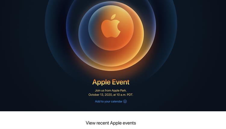 苹果发布新消息(图片来源:Apple官网 截图)