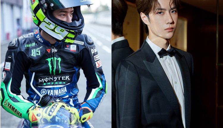 王一博不仅是歌手演员,还是一名职业摩托赛车手。