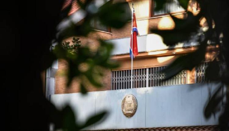 意大利的朝鲜领事馆