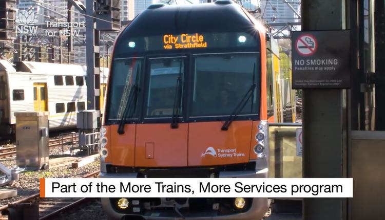 悉尼 火车