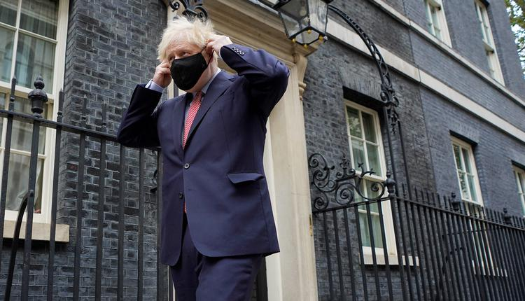 英国首相约翰逊, 保守党大会