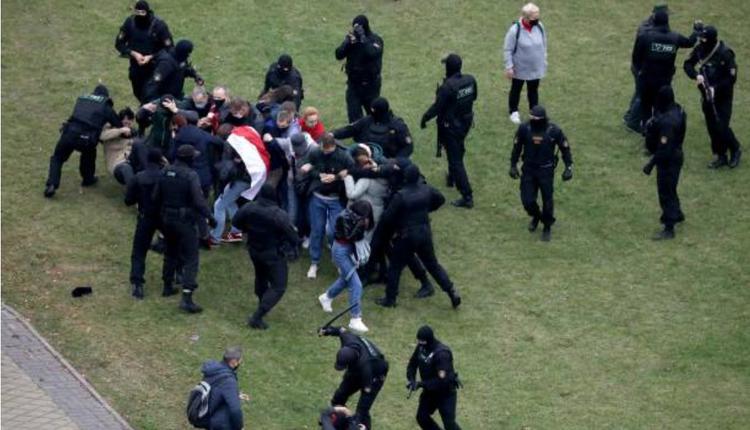 10月11日白俄罗斯示威