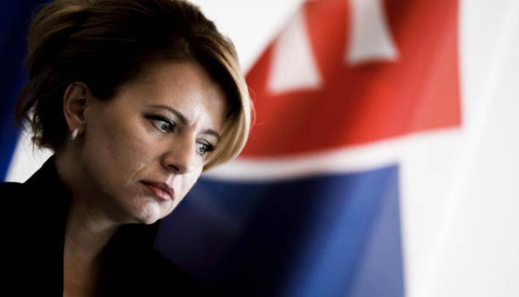 斯洛伐克总统查普托娃 (Zuzana Caputova)