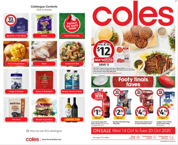 Coles 本周半价