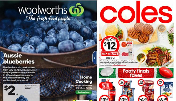 Coles、Woolworth本周半价商品