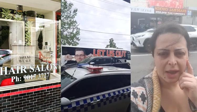 反封锁开门营业 墨尔本理发店遭罚款$9913