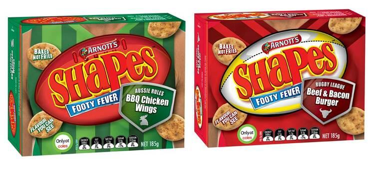 Shapes饼干