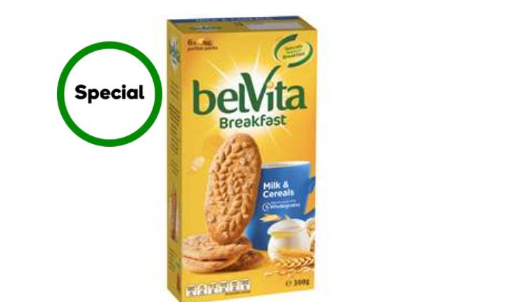 Belvita有机全麦饼干