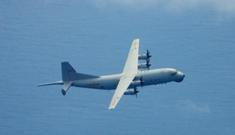 中国运8反潜机