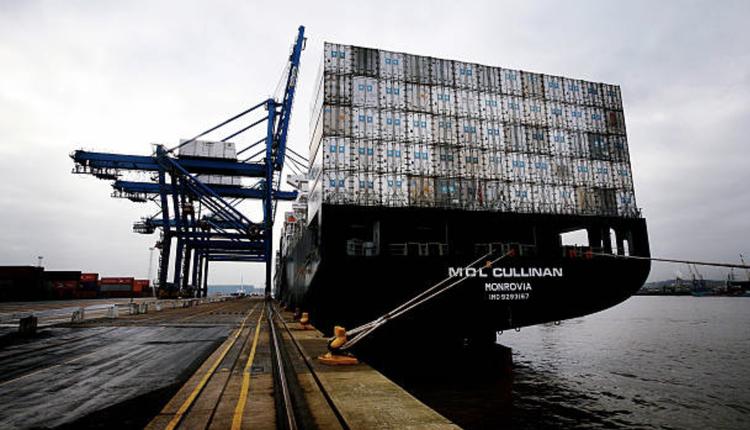 伊朗货运运船示意图