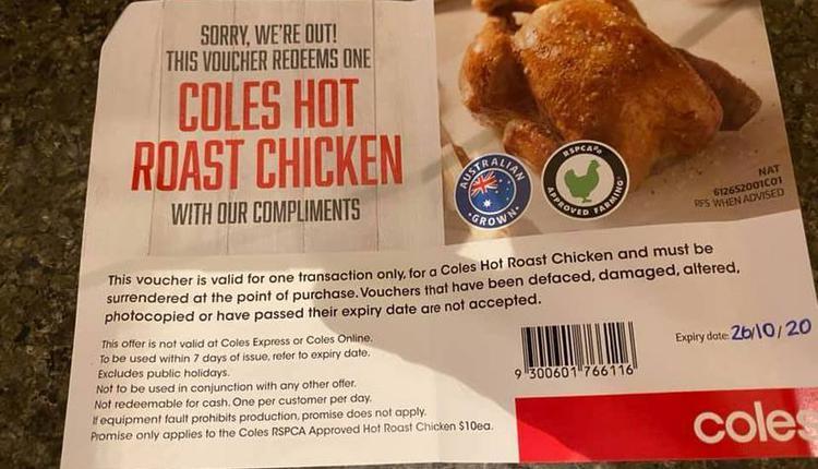Coles烤鸡