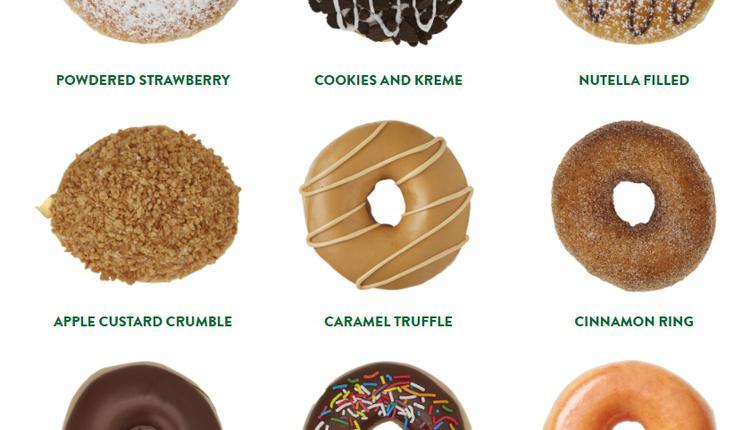 Krispy Kreme 甜甜圈