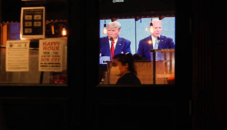 美国总统大选候选人最后一次辩论
