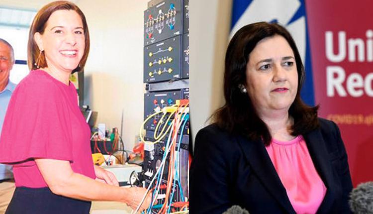 Annastacia Palaszczuk和Deb Frecklington