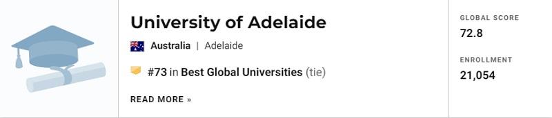 澳洲八大全部进入Top100