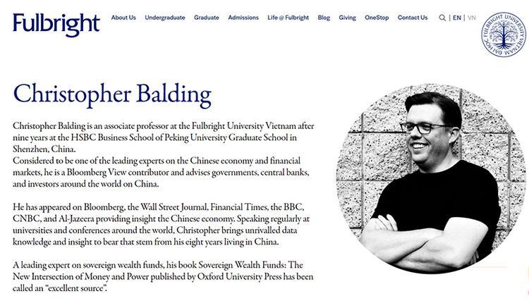克里斯托夫.鲍尔丁(Christopher Balding)