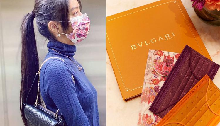 木村光希戴上的中卫口罩是与宝格丽精品的联名款