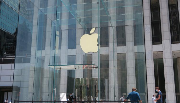 苹果直营店(图片来源:中央社)