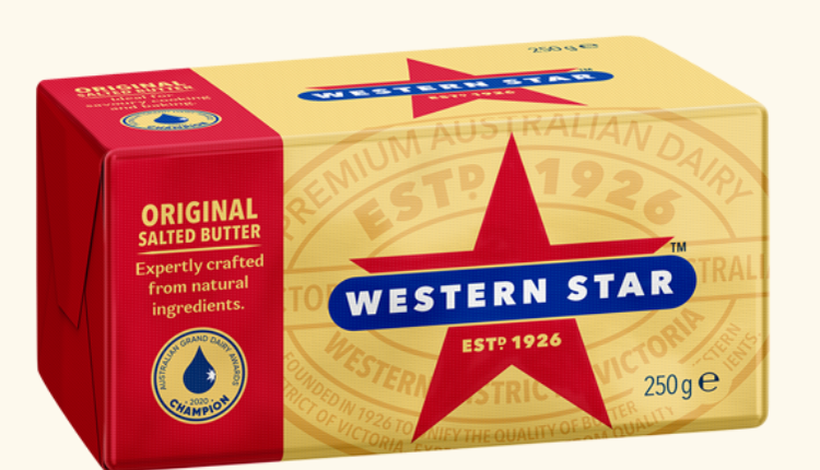 Western Star有盐黄油