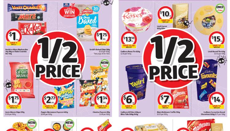 Coles 本周半價商品