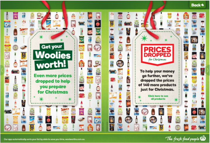 Woolworths本周半價商品