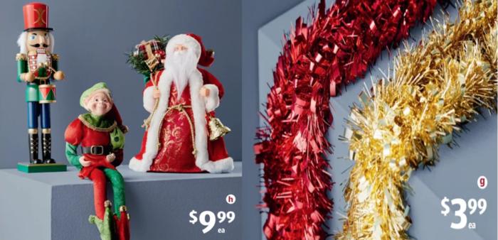 Aldi推多款圣诞特卖品