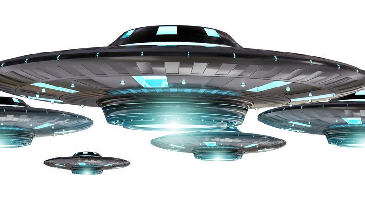 """日本鹿儿岛惊见""""UFO空战"""""""