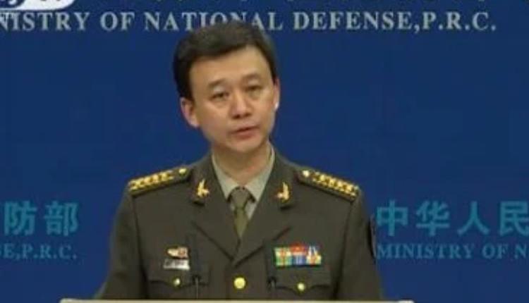 中国国防部发言人吴谦