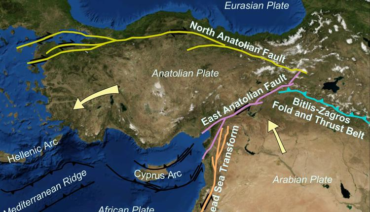 北安那托利亚断层(North Anatolian fault)