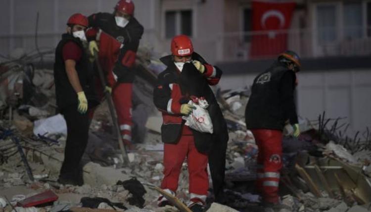 土耳其地震灾难现场抢救画面