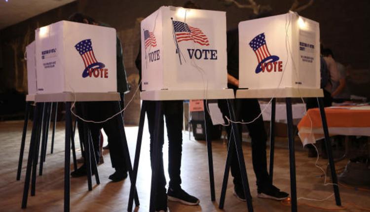 美国大选投票