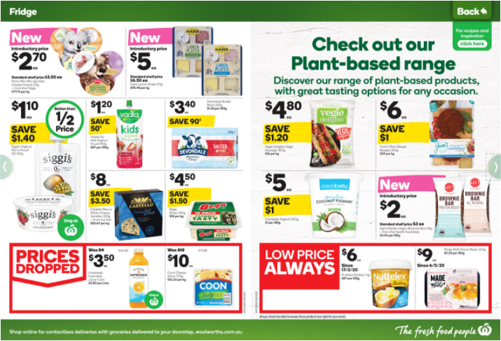 Woolworths 11月4日至10日 优惠全目录