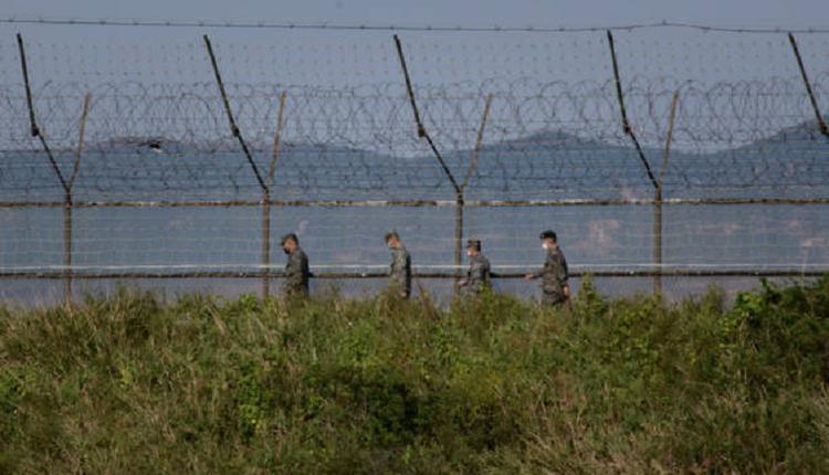 韩国与朝鲜非军事区