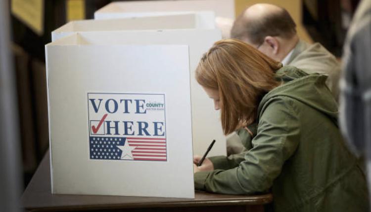 美国总统大选投票