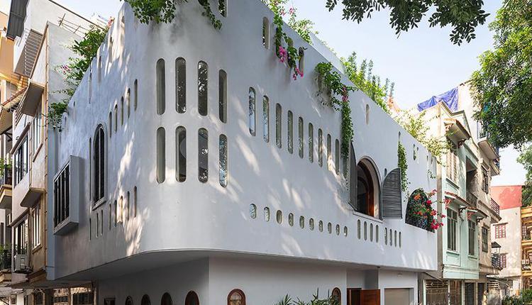 白色的小楼
