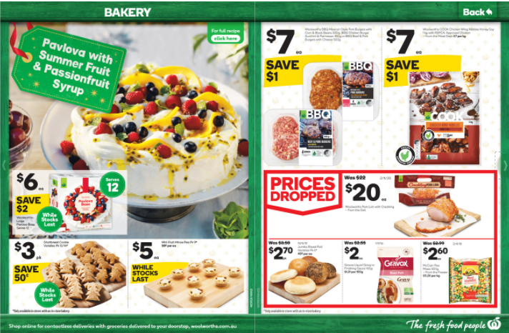 Woolworths 11月11日至17日 优惠全目录
