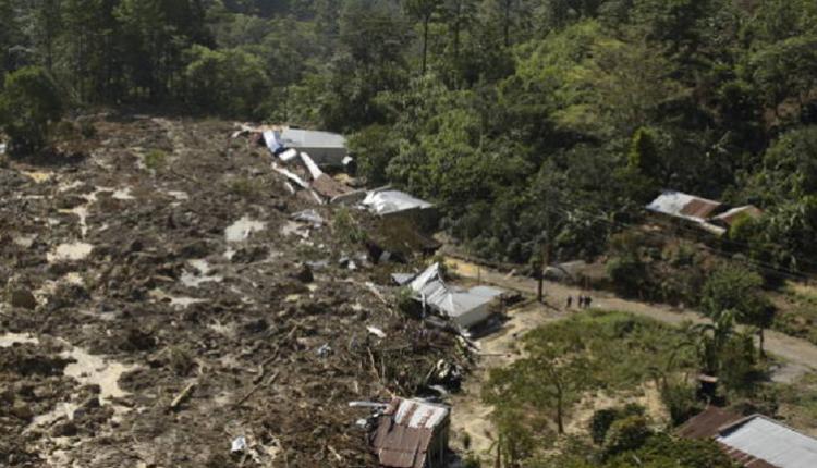 危地马拉山崩