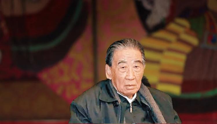 前中央警卫局长杨德中去世